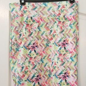 LuLaRoe Cassie Skirt XL